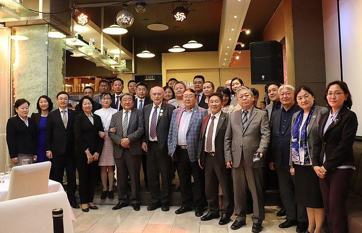 Herr Willi Lange – Leiter des Referats Nordost- und Zentralasien in der Mongolei