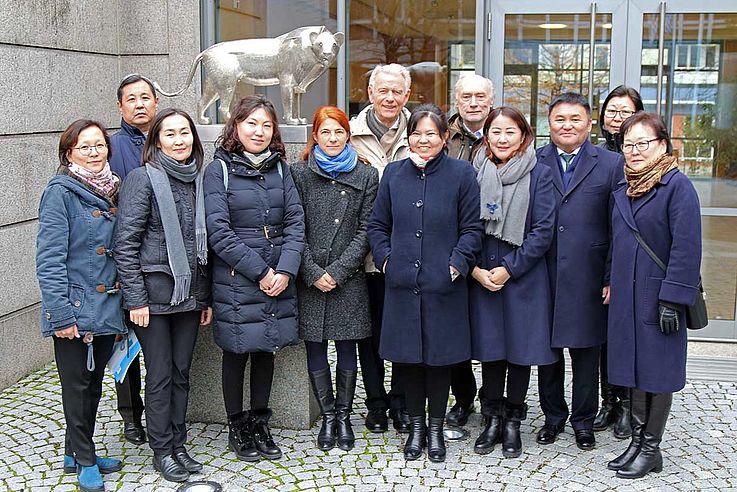 Informationsreise der RichterInnen des Verwaltungsgerichts 1. Instanz der Hauptstadt nach Deutschland